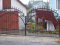 Ворота кованые Грин