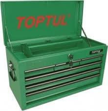 Ящик для инструмента  6 секций  660(L)x307(W)x378(H)mm TOPTUL TBAA0601