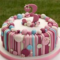 """Детский тортик с начинкой """"Фруктовая сказка"""" на заказ"""