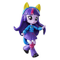 Куколка  My Little Pony шарнирна мини Девочки ЭквестрииТвайлайт Спаркл  My Little Pony Equestria Girls Minis