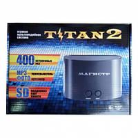 Игровая приставка Magistr Titan 2, 400 встроенных игр Sega/Dendy, 2 джойстика
