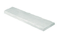 Панель декоративная рустик ET 305 (2 м) classic белая 19х3,5