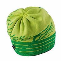 Теплая вязанная женская шапочка от Loman Польша Зеленый, 53-55