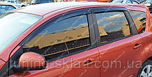 Вітровики вікон Ніссан Ноут 1 Е11 (дефлектори бокових вікон Nissan Note E11)