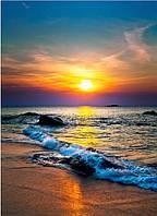 Кафель панно Закат море - фотоплитка панно,  плитка 20х30см.