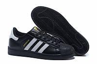 "Кроссовки Adidas Superstar ""White/Black/Gold"""