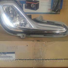 Фара противотуманная левая  для Hyundai Accent (Solaris) 11-15  Mobis 92201-1R000