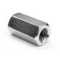 Гайка удлиненная DIN 6334 М8х24 нержавеющая сталь А2 (100 шт/уп)