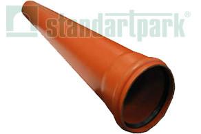 Труба для наружной канализации из ПВХ SN2