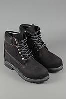 Ботинки Timberland Classics черные с черной подошвой. Ботинки. Модные ботинки. Ботинки высокие.