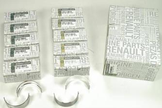 Вкладыши коленчатого вала на Renault Trafic II 2003->2014 2.5dCi — Renault (Оригинал) - 7701477777