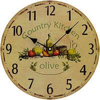Часы настенные Olive 34 см