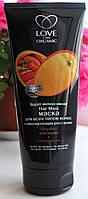 Super интенсивная маска для всех типов волос Love 2Mix Organic апельсин + перец чили восстанавливает RBA /0-03