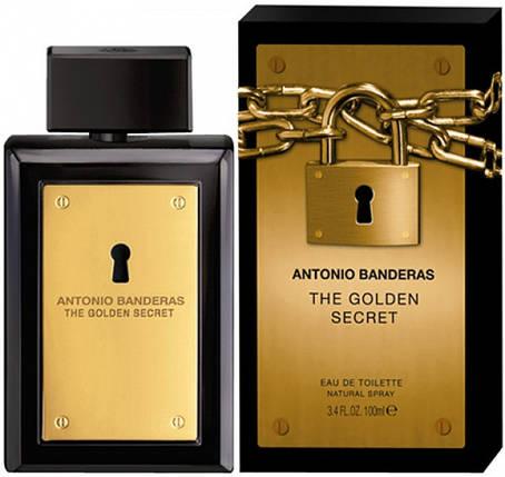 Antonio Banderas The Golden Secret туалетная вода 100 ml. (Антонио Бандерос Зе Голден Сикрет), фото 2