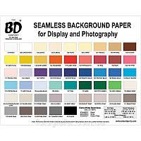 BD 2.75х11 м фон бумажный (цвета в асортименте)