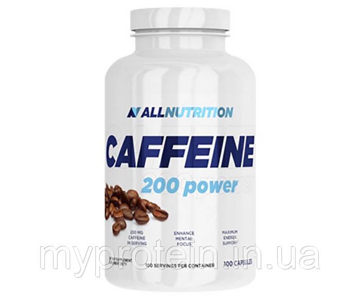 All Nutrition Энергетики Caffein 200 power (100 caps)
