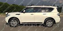 Вітровики вікон Ніссан Патрол 6 Y62 (дефлектори бокових вікон Nissan Patrol 6 Y62)