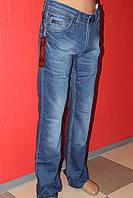 Стильные джинсы для мужчин классические Omore прямые с потёртостями весна  осень лето  1759