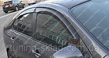 Вітровики вікон Ніссан Прикладу 3 Р12 (дефлектори бокових вікон Nissan Primera 3 P12)