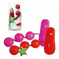 Вагинальные шарики Power Balls красные