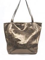 Женская сумка Vera Pelle (1137 gold) leather