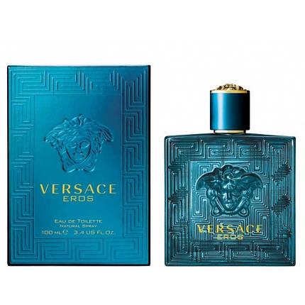 Мужские духи Versace Eros Pour Homme edt 100ml, фото 2