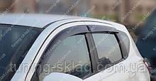 Вітровики вікон Ніссан Кашкай 1 J10 (дефлектори бокових вікон Nissan Qashqai 1 J10)