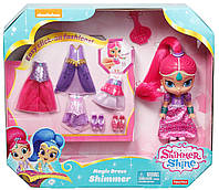 Кукла Шиммер с набором одежды из мультфильма Шиммер и Шайн /Fisher-Price Shimmer and Shine Magic Dress Shim