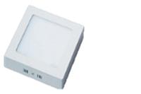 Светильник светодиодный Biom W-S18 W 18Вт накладной квадратный белый