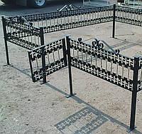 Ритуальная ограда для могилы на кладбище, фото 1