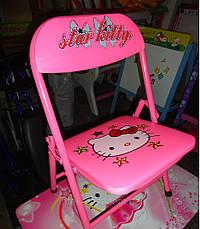 Детская парта - столик со стульчиком DT 18-11 Hello Kitty ом Спанч Боб, фото 3