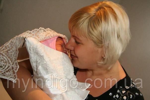 Конверт для новорожденной, готовимся заранее!