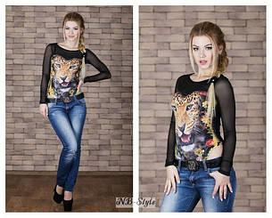 "Боди ""Леопард-цветы"" Тл140252"