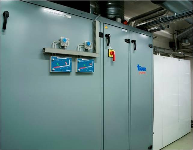 Приточно-вытяжная вентиляция с системой рекуперации