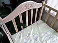 Кровать Дина Клен (Маятник) Крашеная белая, фото 2