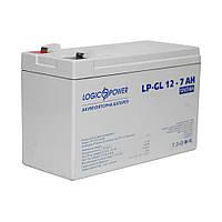 Аккумулятор гелевый LP-GL 12V 7Ахч