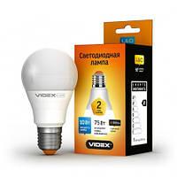 Лампа LED Videx A60e 10W E27 4100K 220V