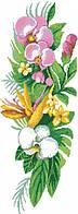 """Набор алмазной мозаики """"Букет орхидей"""""""