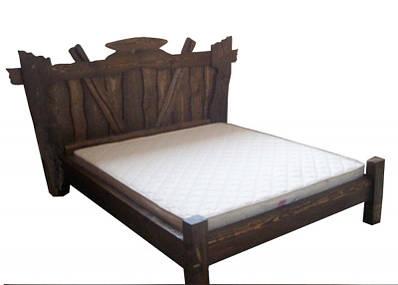 """Кровать из натурального бука """"Вожак"""""""