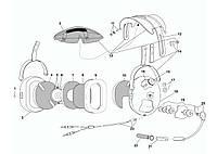 Запасные части к авиационным гарнитурам David Clark, Flightcom