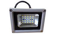 Прожектор  LED  10w 6500K IP65 20LED LEMANSO серый