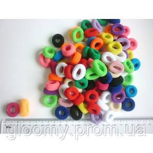 Резинка цветная маленькая 100 шт.уп.