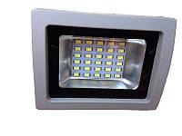 Прожектор  LED  15w 6500K IP65 30LED LEMANSO серый