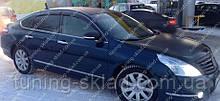 Вітровики вікон Ніссан Теана 2 J32 (дефлектори бокових вікон Nissan Teana 2 J32)