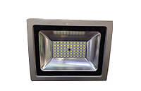 Прожектор  LED  30w 6500K IP65 60LED LEMANSO серый