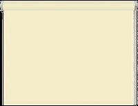 Тканевые рулонные шторы Black out (блэкаут) МОЛОЧНЫЙ, РАЗМЕР 42,5х170 см