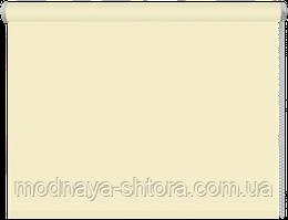 Тканевые рулонные шторы Black out (блэкаут) МОЛОЧНЫЙ, РАЗМЕР 40х170 см