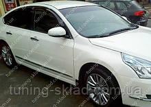 Вітровики вікон Ніссан Теана 3 L33 (дефлектори бокових вікон Nissan Teana 3 L33)