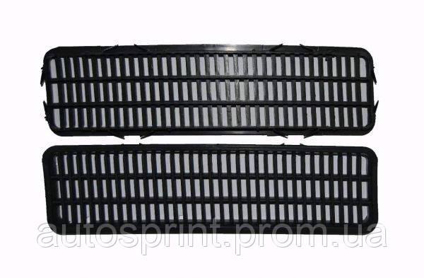 Комплект решеток воздухозаборных капота 2103,2106