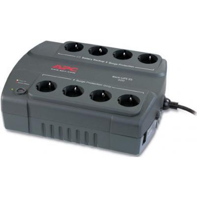 Источник бесперебойного питания Back-UPS ES 400VA APC (BE400-RS)
